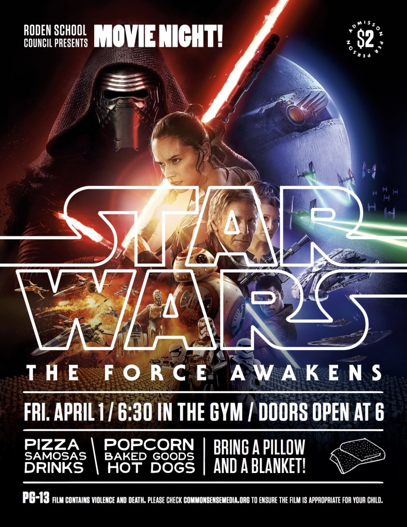 Roden Movie Night Poster (StarWars) copy