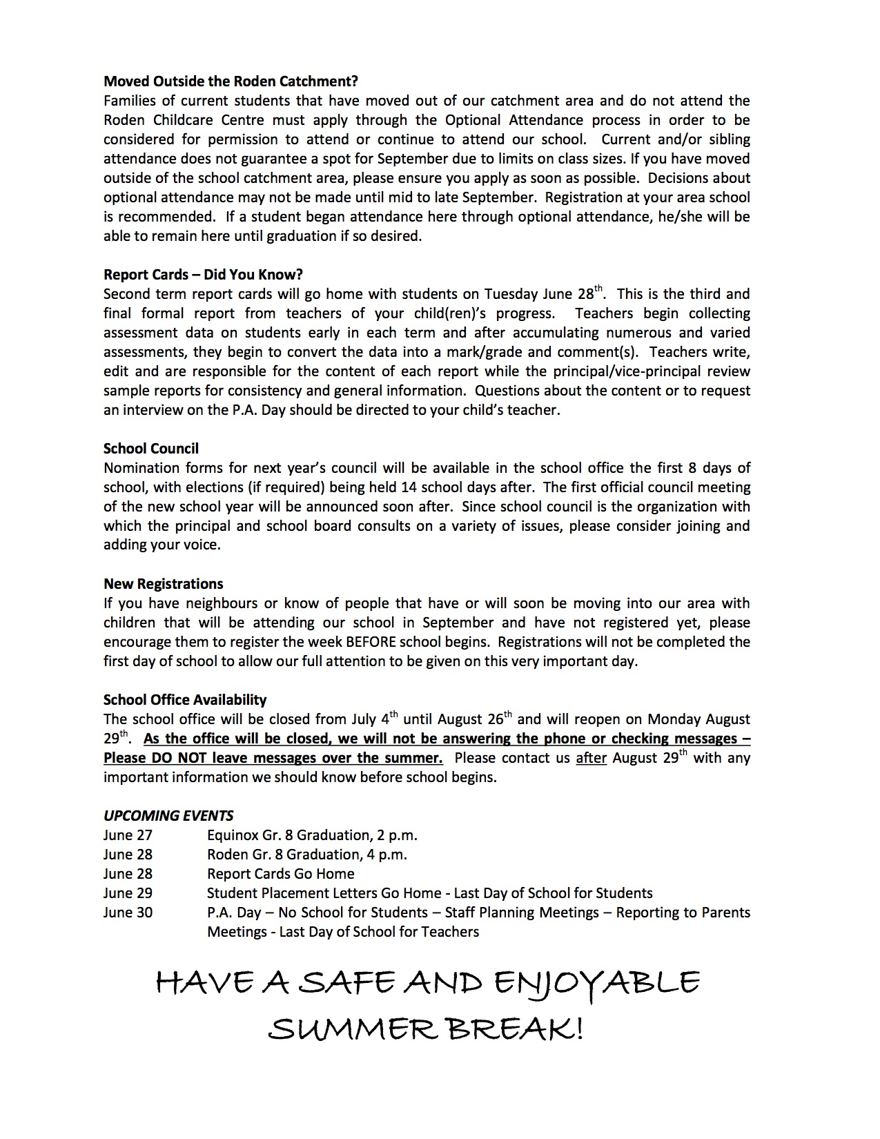 Roden Newsletter 16-06-24p2