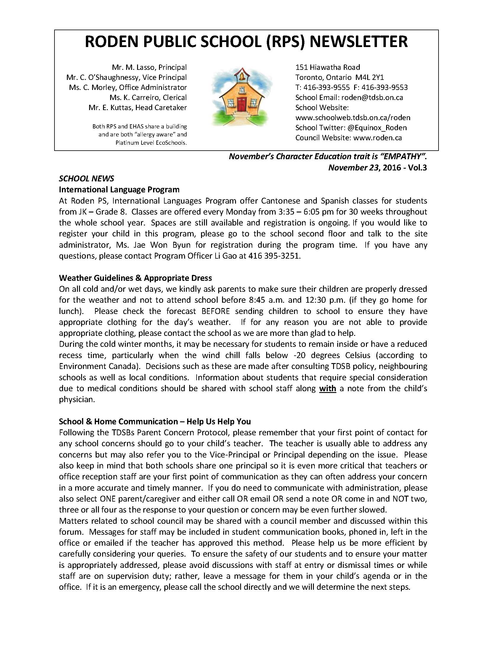 Roden Newsletter 16-11-23 Page_1