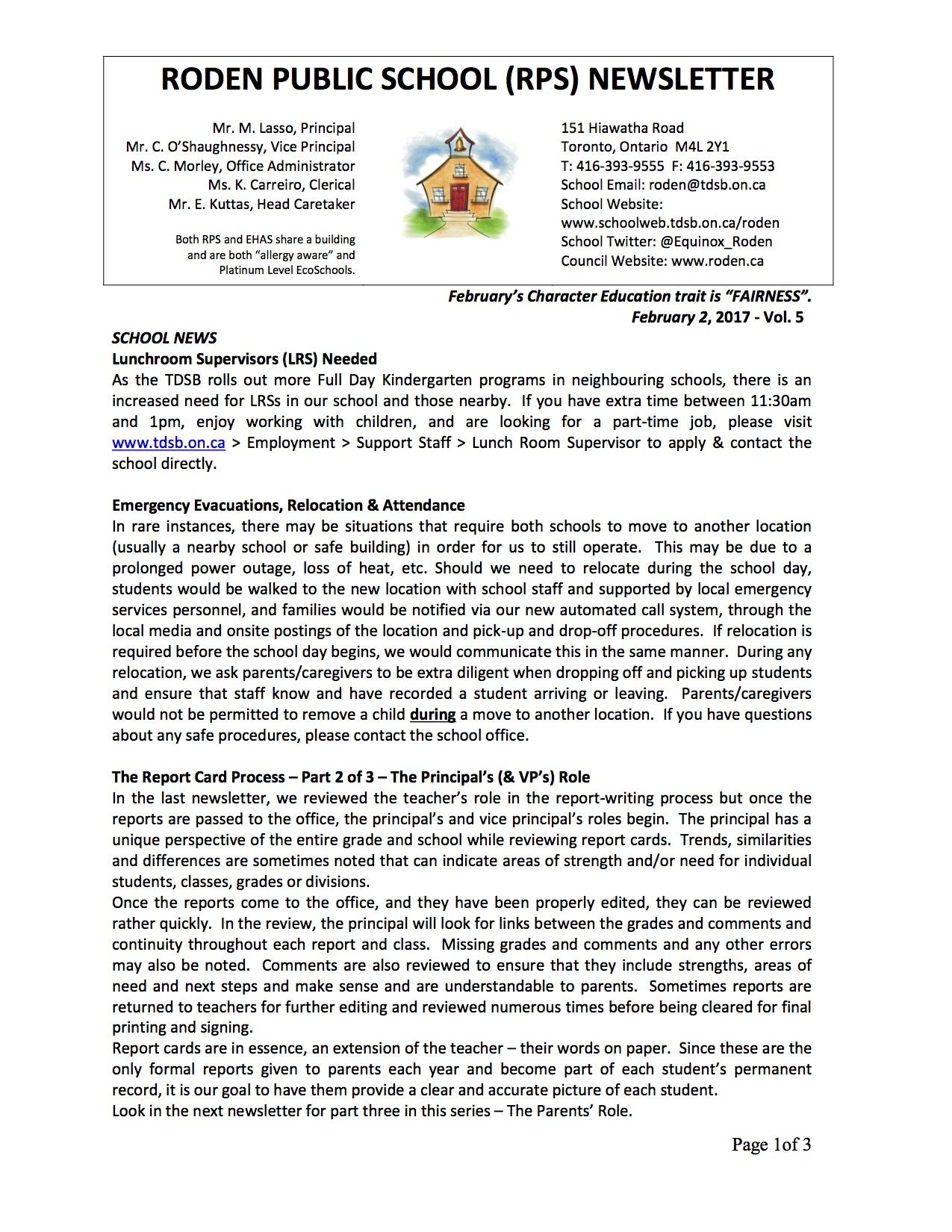 Roden Newsletter 17-02-02